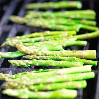 Grilling Asparagus on Gas Grill