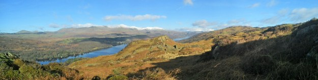 Coniston vista early in the day.