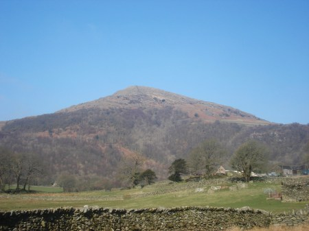 The Pike from the Duddon Valley.