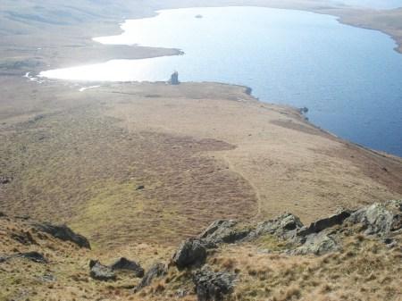 Last view down onto Devoke water.