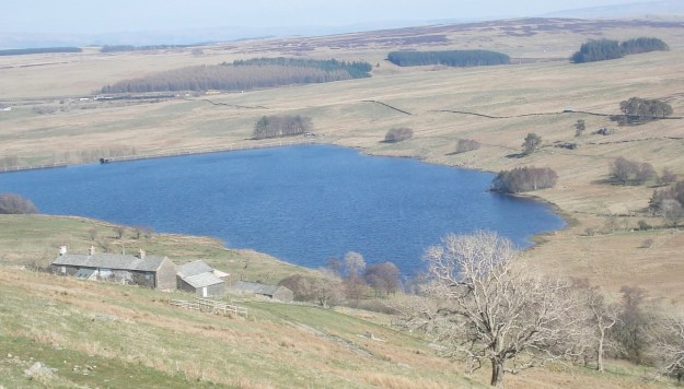 Sleddale Hall and reservoir.
