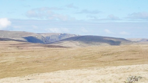 From the Crookdale Horseshoe looking north yo the Longsleddale fells.