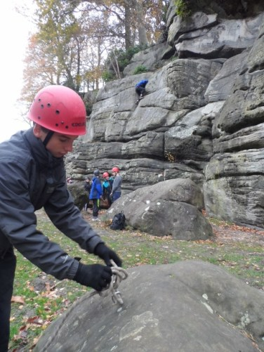 GCSE and BTEC rock climbing assessment