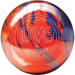 DV8 Misfit Orange/Blue, Bowling Ball