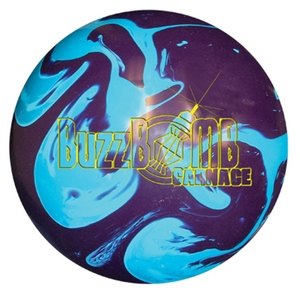 Lane #1 BuzzBomb Carnage, Bowling Ball, Review