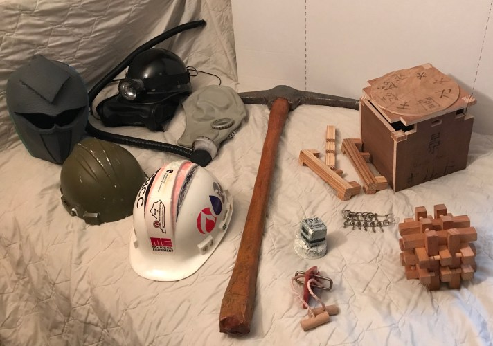 Props Costumes and Puzzles