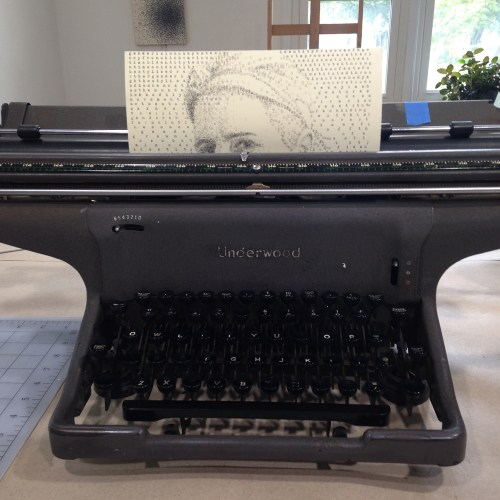 Leslie Nichols // Typewriters and Visual Art
