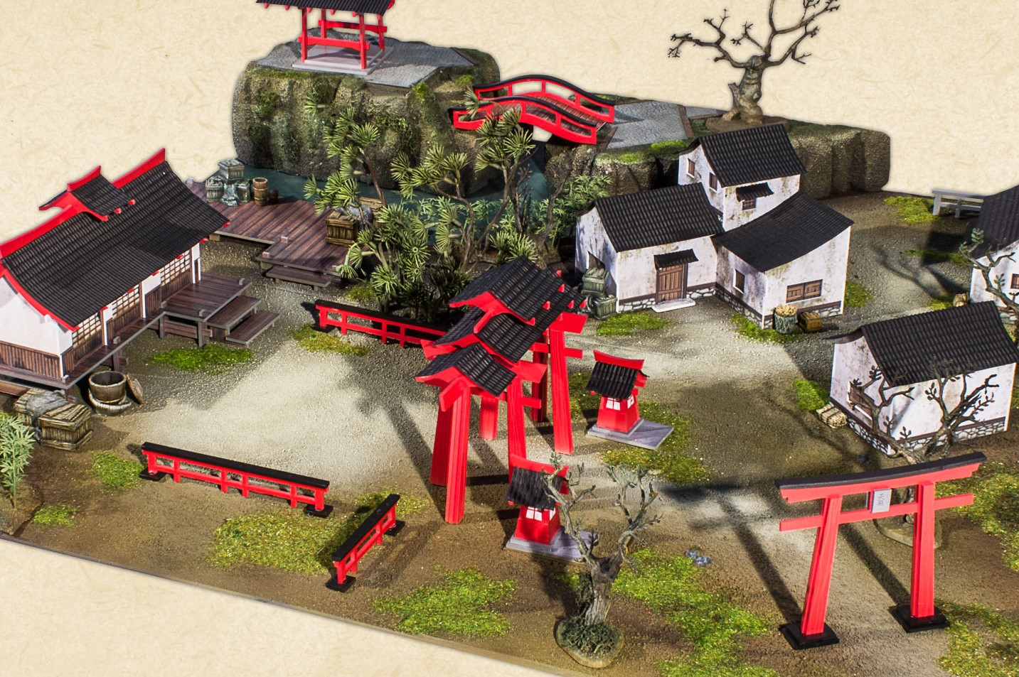 Plast Craft Head To Feudal Japan With Next Color Ed Range Ontabletop Home Of Beasts Of War