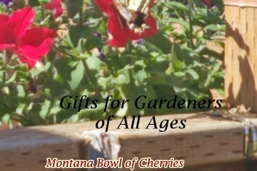 Gifts for Gardeners of All Ages-Montana Bowl of Cherries 2020 gift guide for gardeners