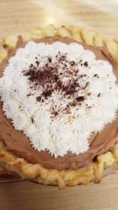 Montana Bowl of Cherries-sugar crust made into French Silk Pie