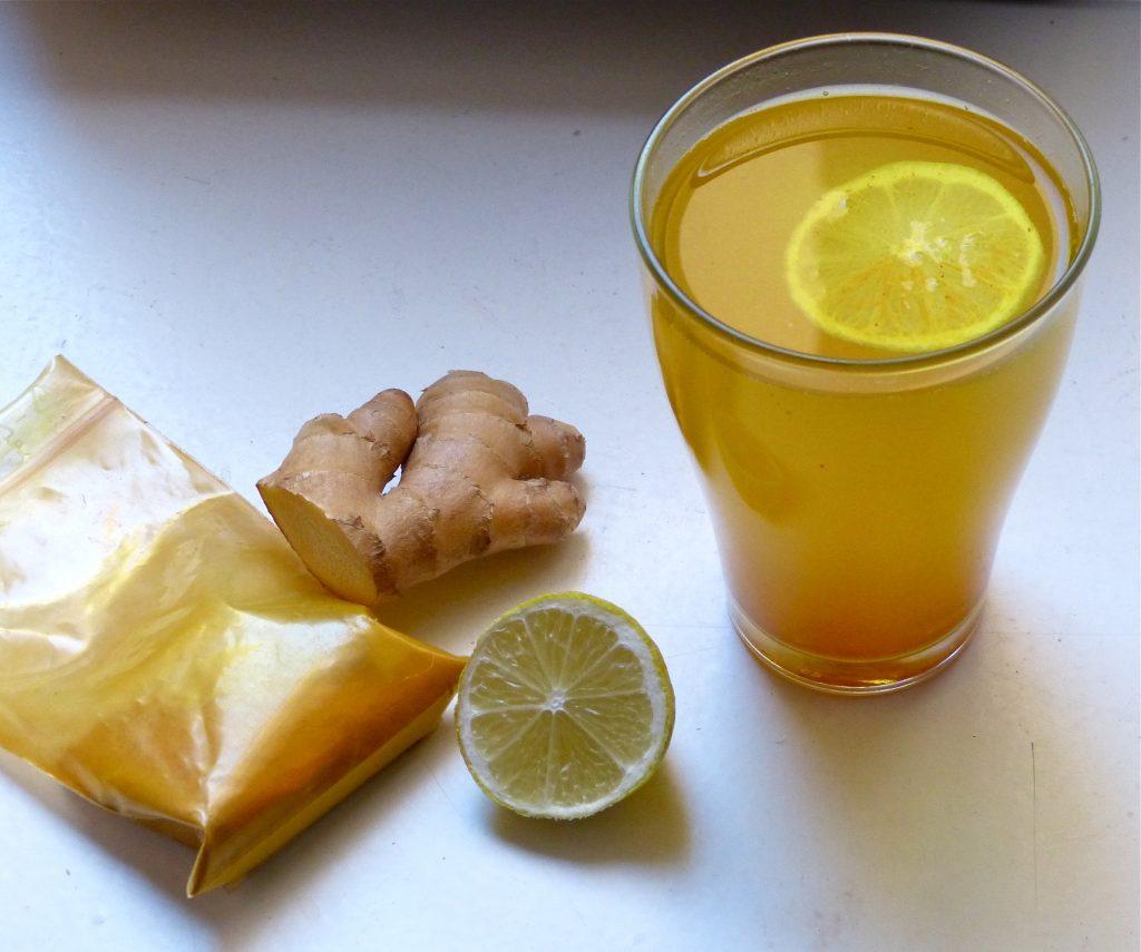 L1060064 1024x855 - Mein Lieblingstee für jeden Tag: Ingwer-Zitrone