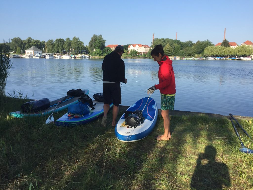 IMG 1527 1024x768 - Zero Waste SUP Touring: Stand Up Paddling von Brandenburg nach Berlin in 2 Tagen