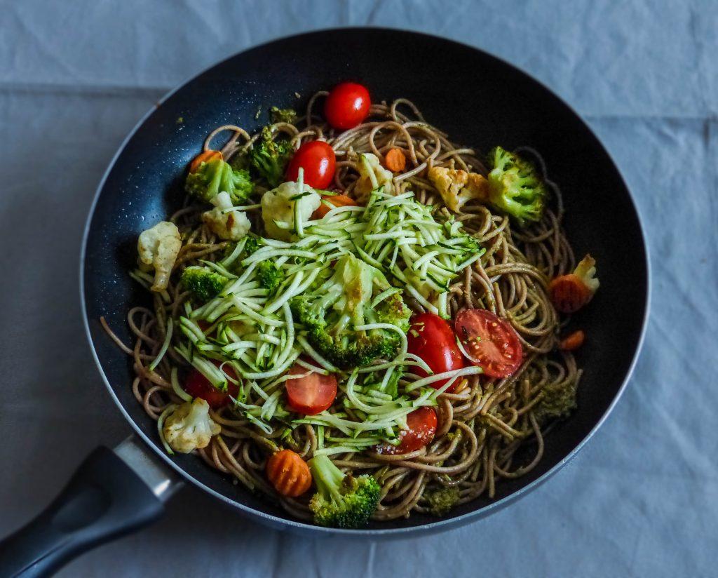 L1050853 LR 55 1024x824 - Wie ihr eure Pesto Pasta gesund und nährstoffreich macht (in nur 5 Minuten!)