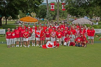 Canada Day Group Photo
