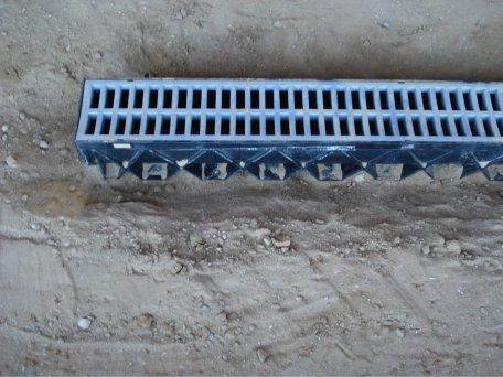 Driveway water management drainage 2