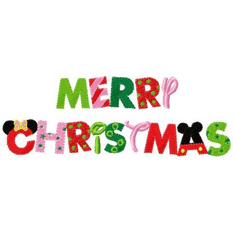 minnie mickey mouse merry christmas in mouse walt disney writing ...