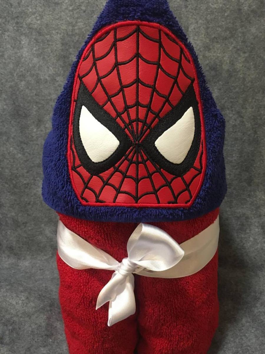 Spidey Hooded Towel