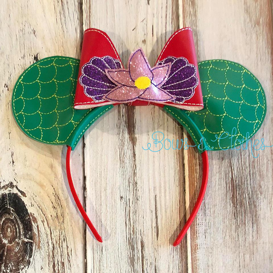 Light Up Mermaid Mouse Ears