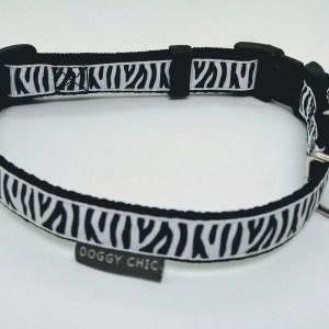 Zebra Print Collar for your dog