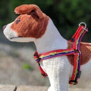 superhero dog harness