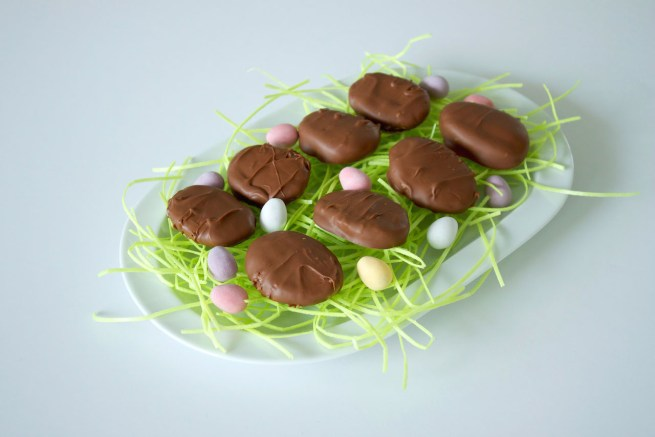 Gluten-free chocolate eggs