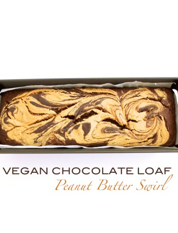 vegan chocolate loaf