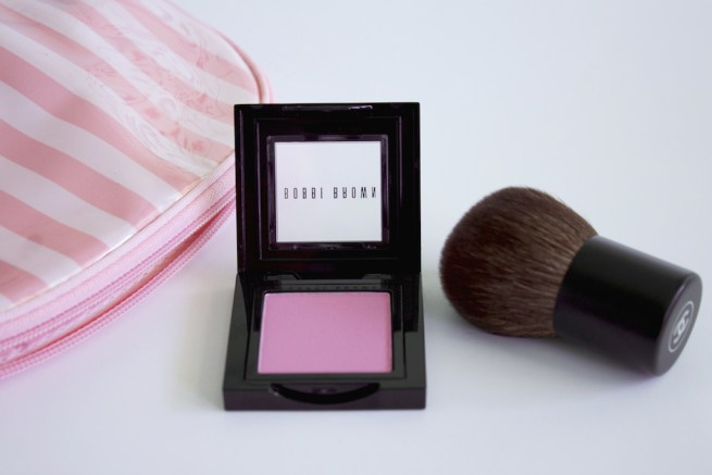 bobbi brown pastel pink blush