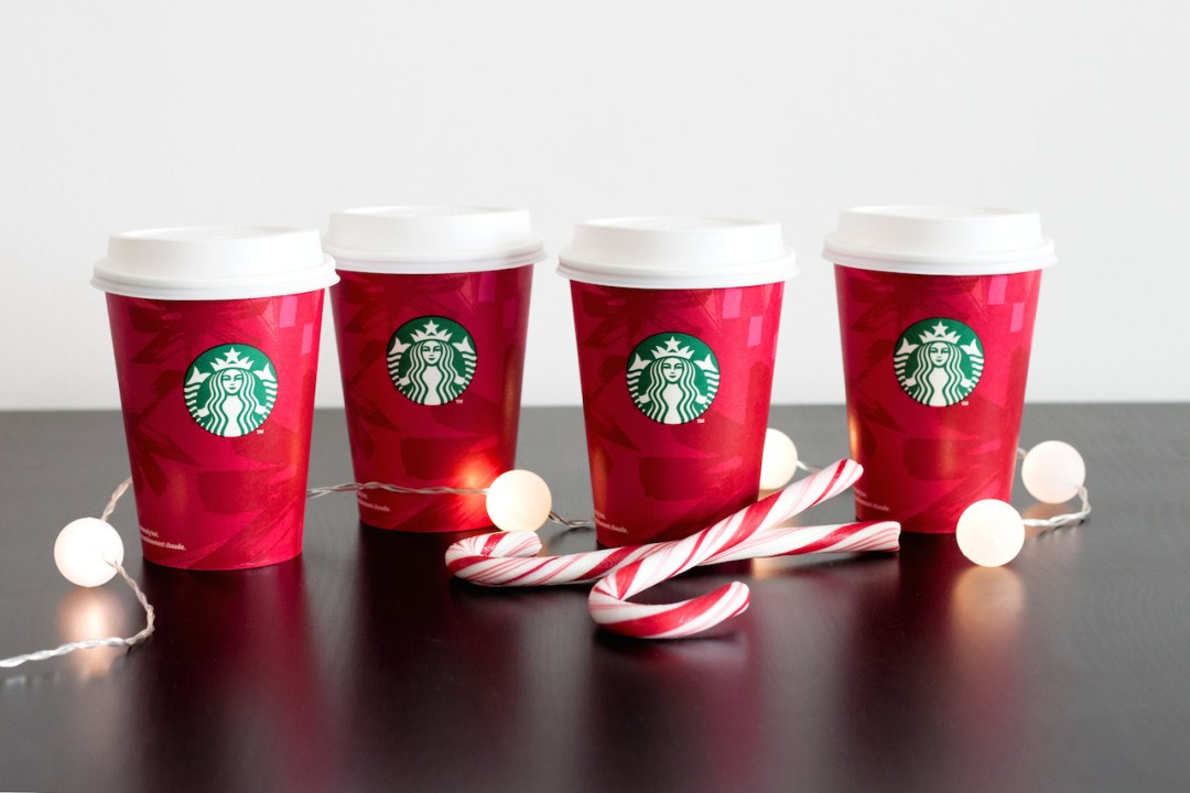 starbucks red cups
