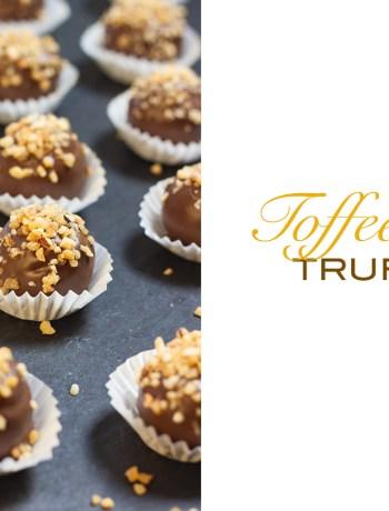toffee nut truffles