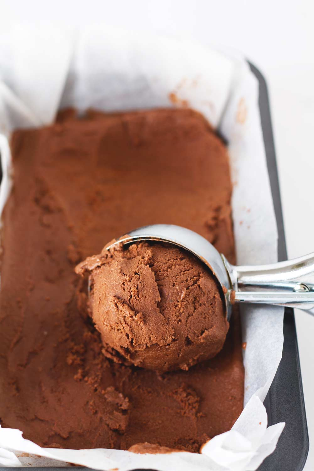 guilt-free chocolate ice cream