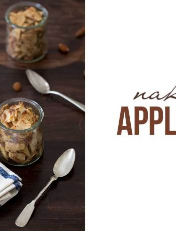 naked apple pie healthy snack