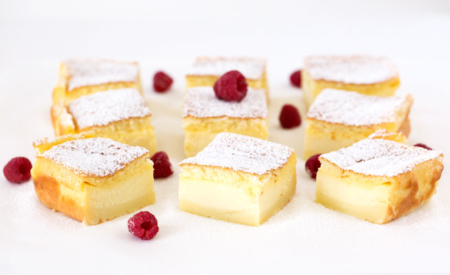 vanilla magic cake