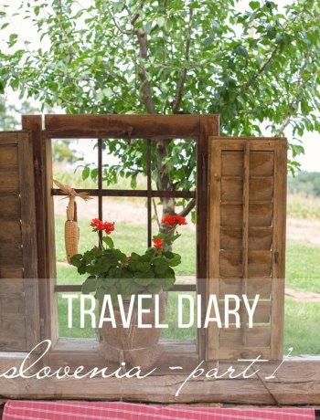 travel diary slovenia