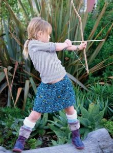 kids bow and arrow