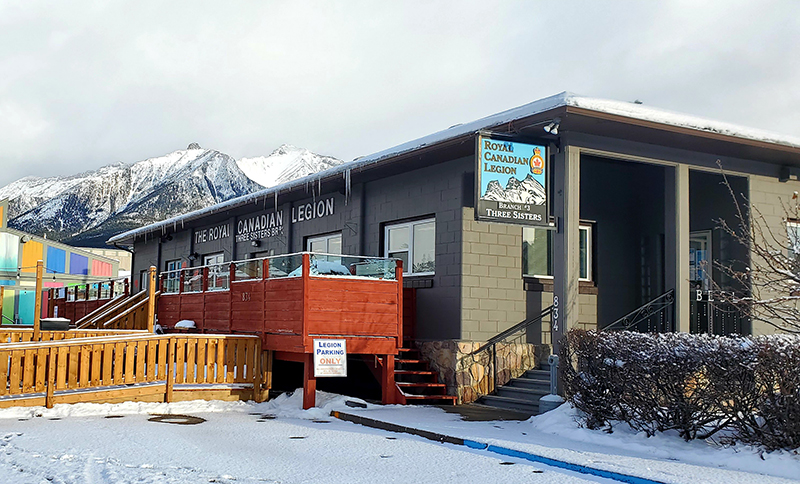 Canmore Three Sister Legion