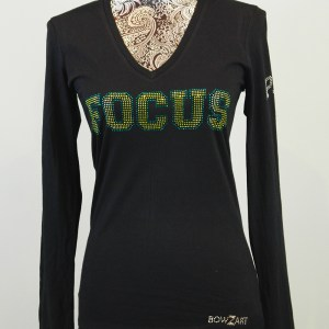 Focus PAS Fitted Long Sleeve V-Neck