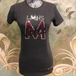 LMHS M-Nettes Charcoal Gray Crew neck