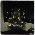 Sapin Noël illuminé