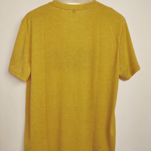 Camiseta BOX BASIC TIRE FLIP amarilla back