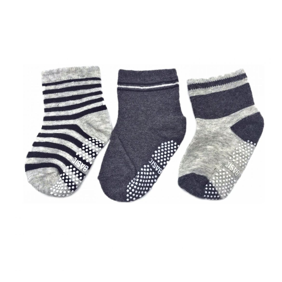 chaussettes-antiderapantes-unies-grises