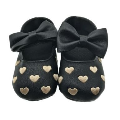 chaussons-coeur-et-noeud-noirs-chics