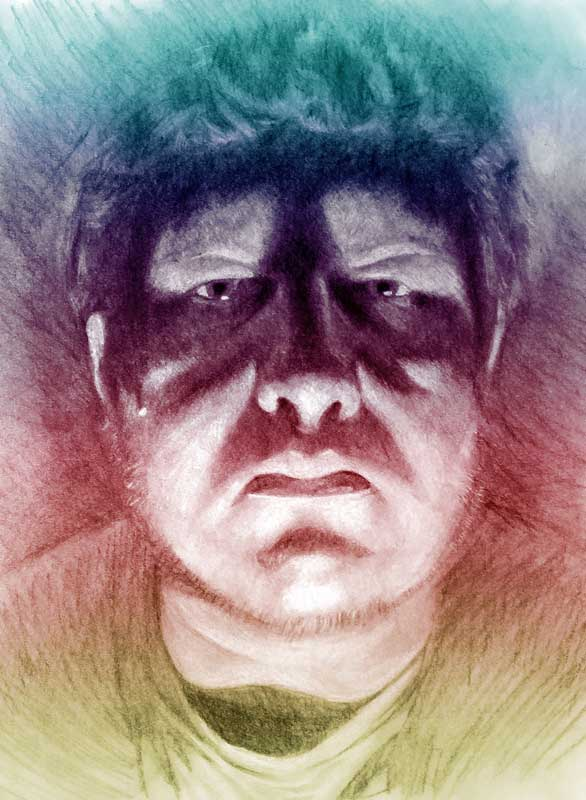 Jeremy Calderon Self Portrait