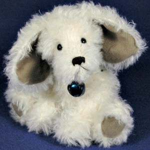 """Dusty - 6"""" Mohair Artist Jointed Puppy Dog Pattern"""