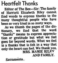 sac bee, 23 jan 1975, heartfelt thanks