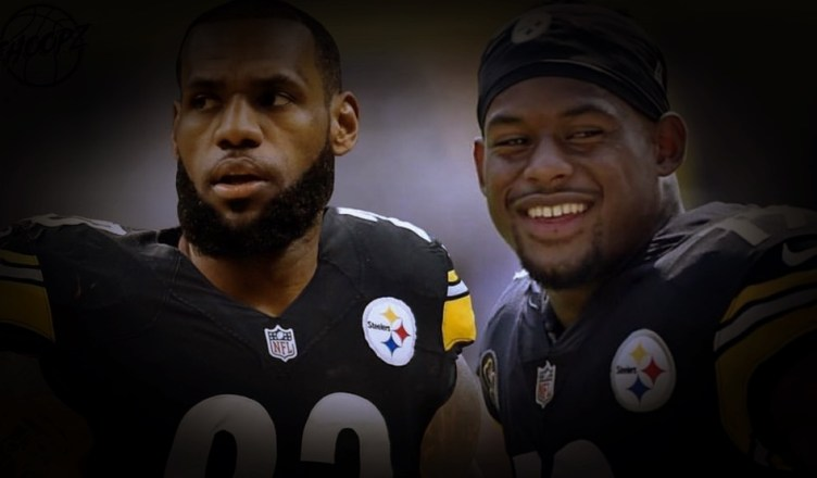 e4e2d9b3a LeBron James Responds to JuJu Smith-Schuster s Steelers  Invite ...