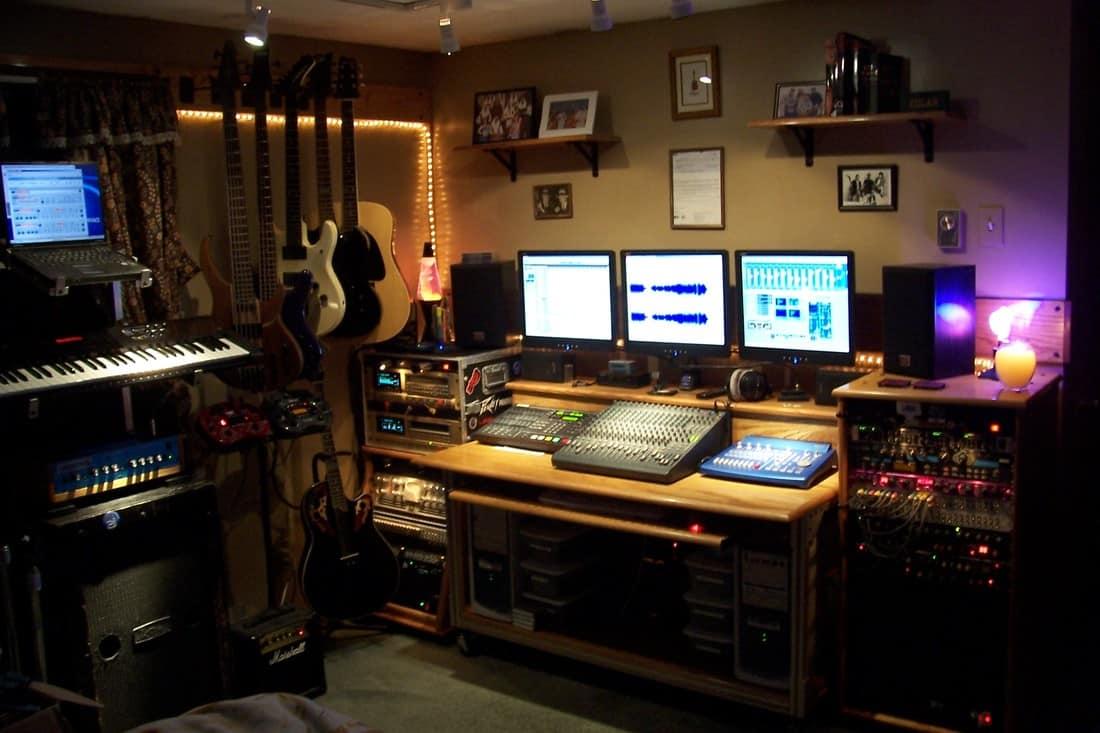 Ongebruikt Best Studio Desks - Home Recording Studio Equipment MQ-34