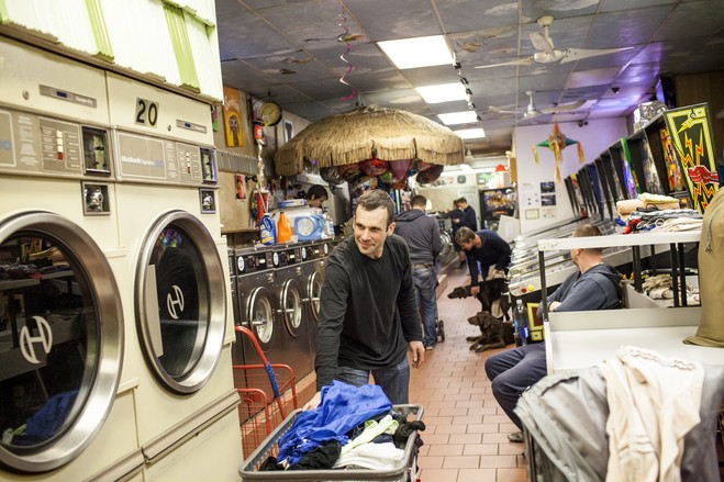 Brooklyn laundromat/bar