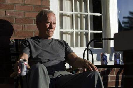 Clint Eastwood on porch