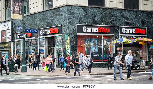 Gamestop in NYC