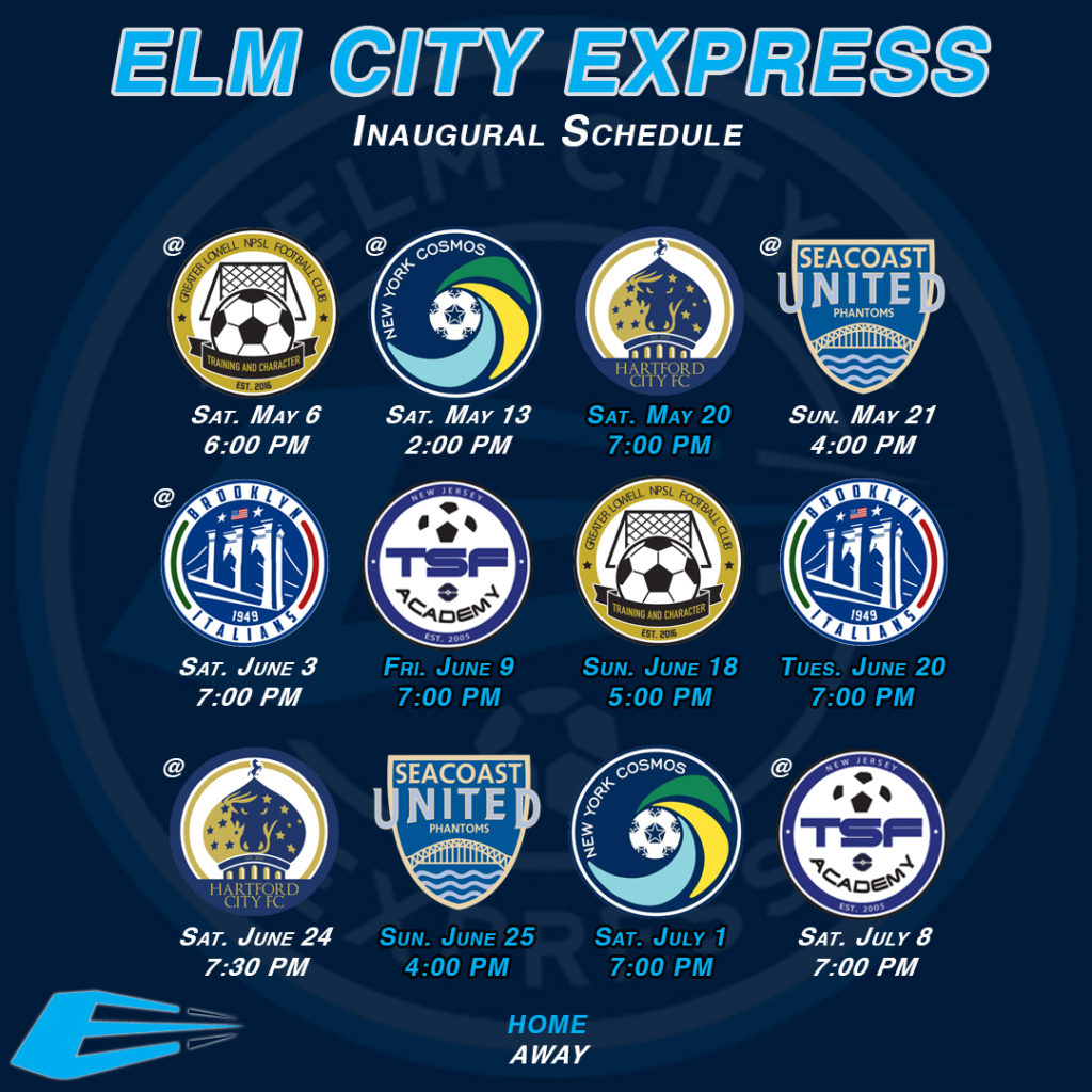 Elm City Express schedule